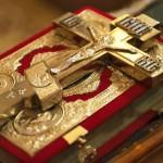 Таинства церкви. Евангелие и крест