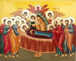 Главная. Успение Пресвятой Владычицы нашей Богородицы и Приснодевы Марии