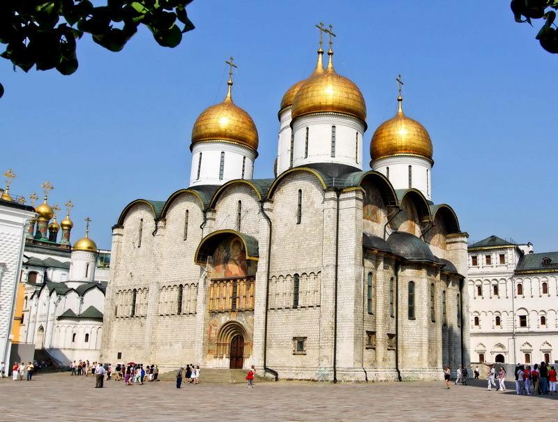 Успенский кафедральный собор в Московском Кремле