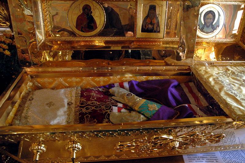 Святитель Игнатий Брянчанинов . Мощи Святителя Игнатия (Брянчанинова)