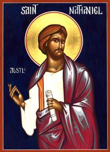 """Апостолы Варфоломей и Варнава. Икона """"Апостол Варфоломей""""."""