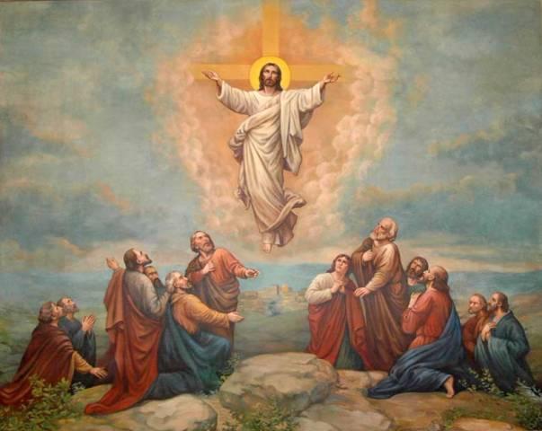 """Апостолы Варфоломей и Варнава. Икона """" Вознесение Господне"""""""
