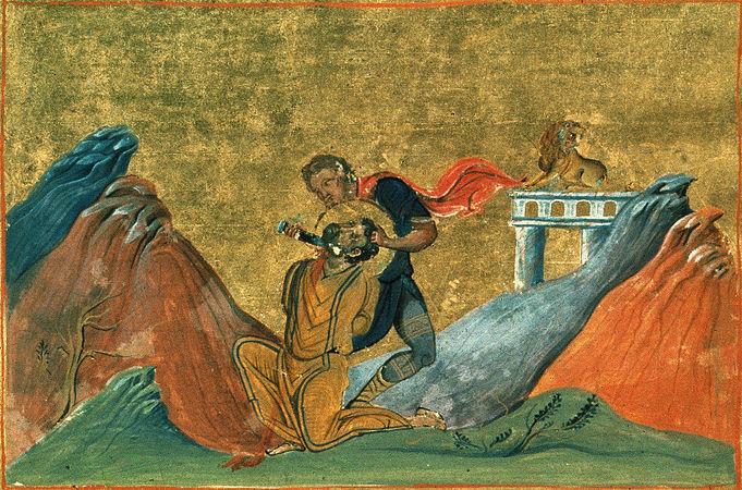 Апостолы Варфоломей и Варнава. Умерщвление Иакова Зеведеева.