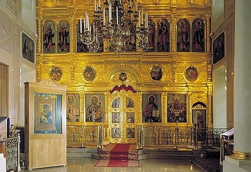 Владимирская икона Божией Матери. Музей-храм Святителя Николая в Толмачах