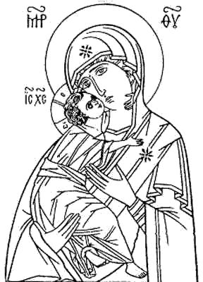 Владимирская икона Божией Матери. Икона Божией Матери «Владимирская».