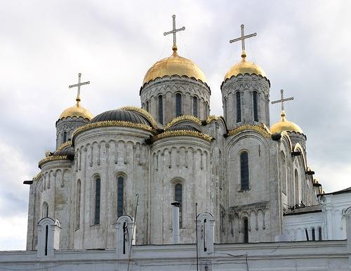 Владимирская икона Божией Матери. Собор Успения Пресвятой Богородицы во Владимире.