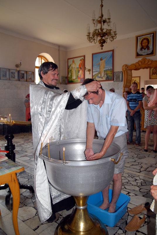 Огласительные беседы пред крещением