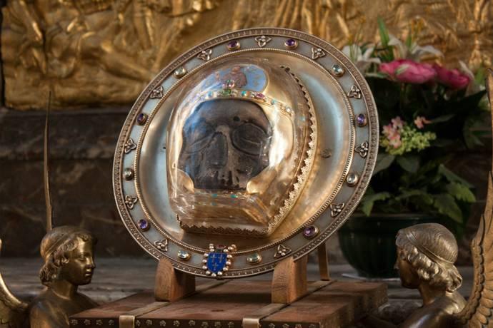 Пророк Иоанн Креститель. Обретение главы Иоанна Предтечи.