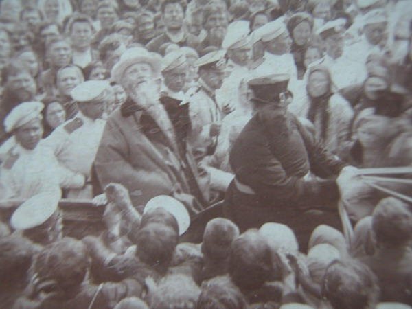 Святой праведный Иоанн Кронштадтский. Отец Иоанн Кронштадтский в местечке Васильево, Таврической губернии.