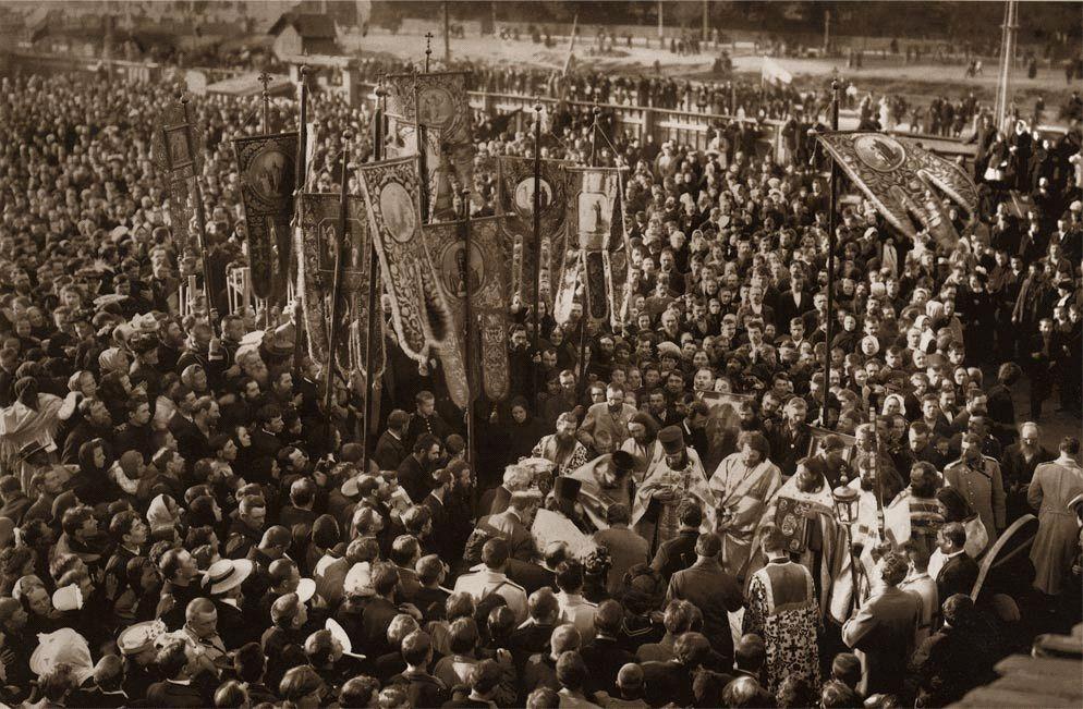 Святой праведный Иоанн Кронштадтский. Похороны Иоанна Кронштадтского.