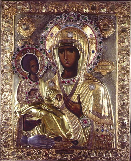 Икона Божией Матери «Троеручица
