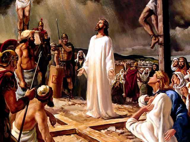 Положение честной ризы Господа нашего Иисуса Христа. Перед казнью.