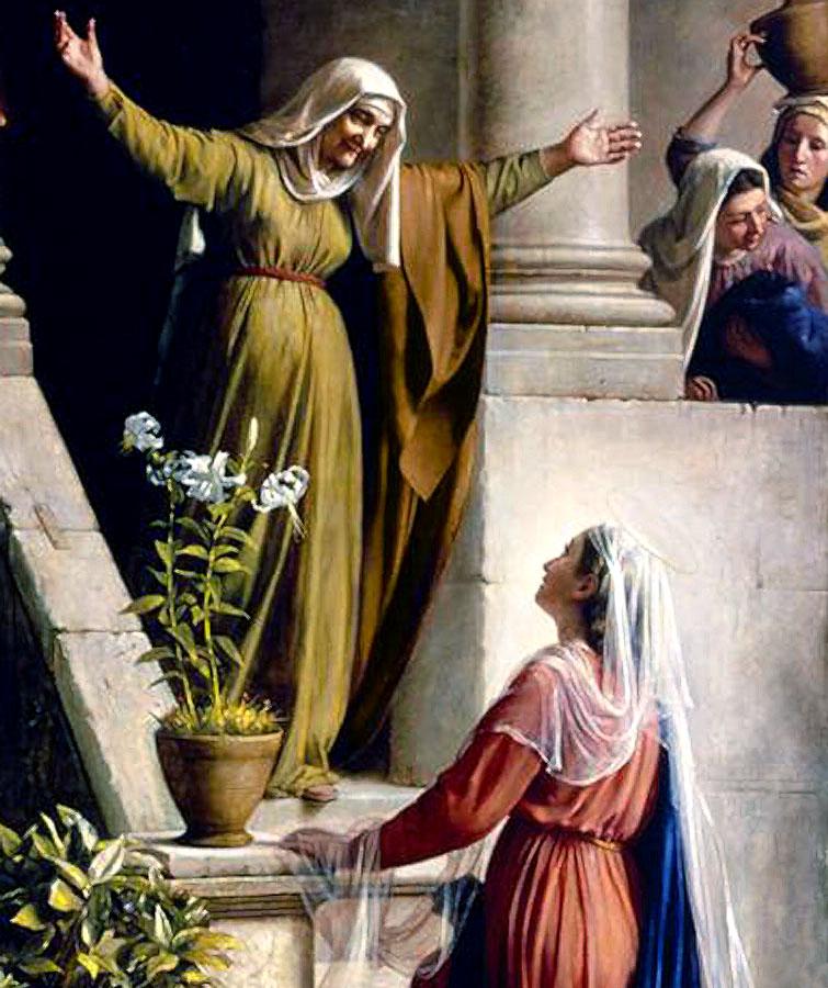 Рождество Пророка Предтечи и Крестителя Господня Иоанна. Встреча Марии и Елизаветы.