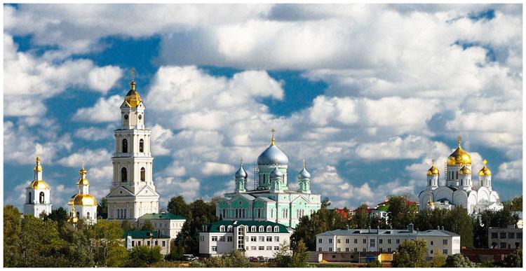 Серафим Саровский. Свято-Троицкий Серафимо-Дивеевский женский монастырь.