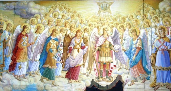 Собор Архангела Гавриила. Ангелы