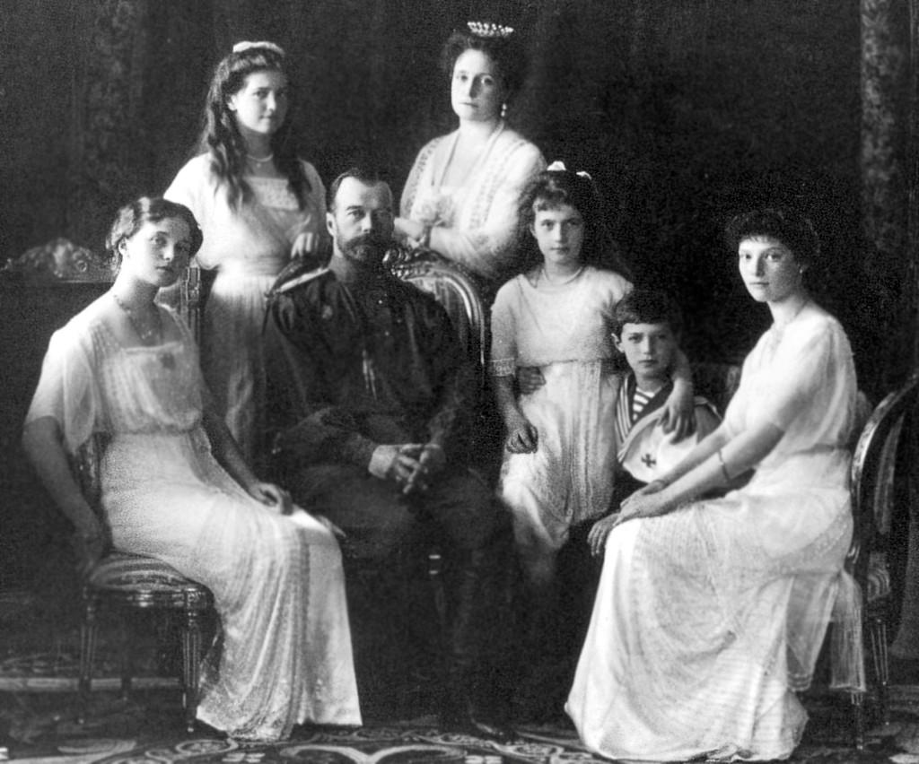 Страстотерпцы император Николай, императрица Александра со чадами