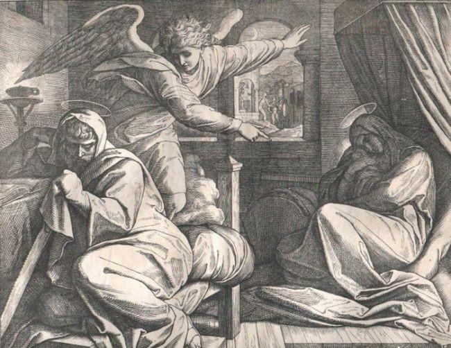 Собор Архангела Гавриила. Явление Иосифу