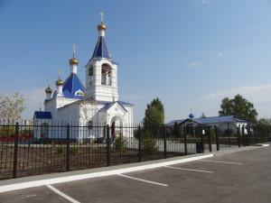 Главная. Успенский храм г. Покровска (Энгельса)