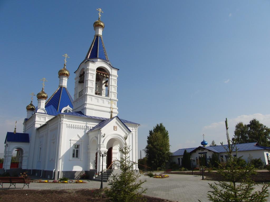 История храма. Новый Успенский храм г. Покровска (Энгельса)