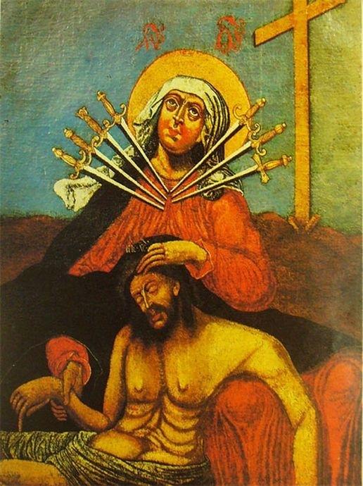 Икона Божией Матери «Семистрельная» 3