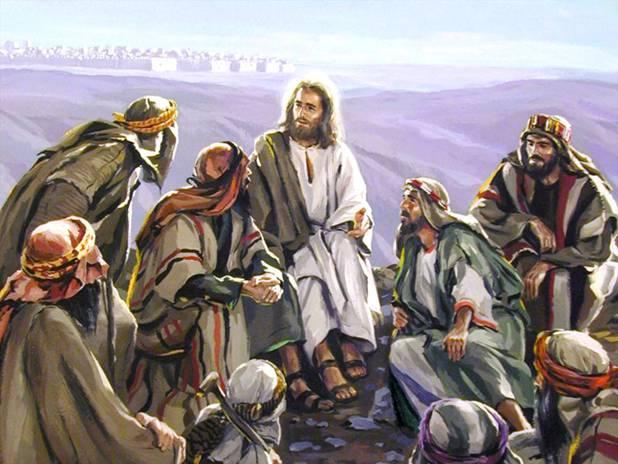 Иисус с учениками