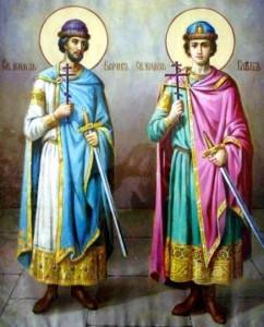 Святых мучеников благоверных князей Бориса и Глеба