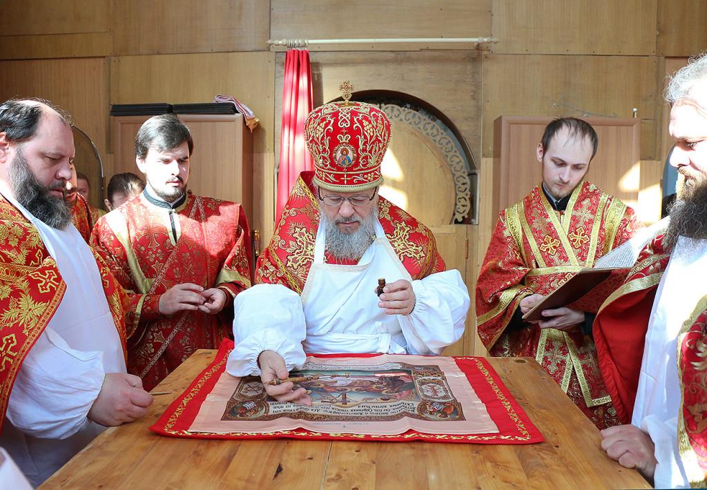 Чин Великого освящения храма. Освящение Антиминса.