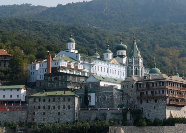 Святой великомученик и целитель Пантелеимон. Пантелеимонов монастырь.