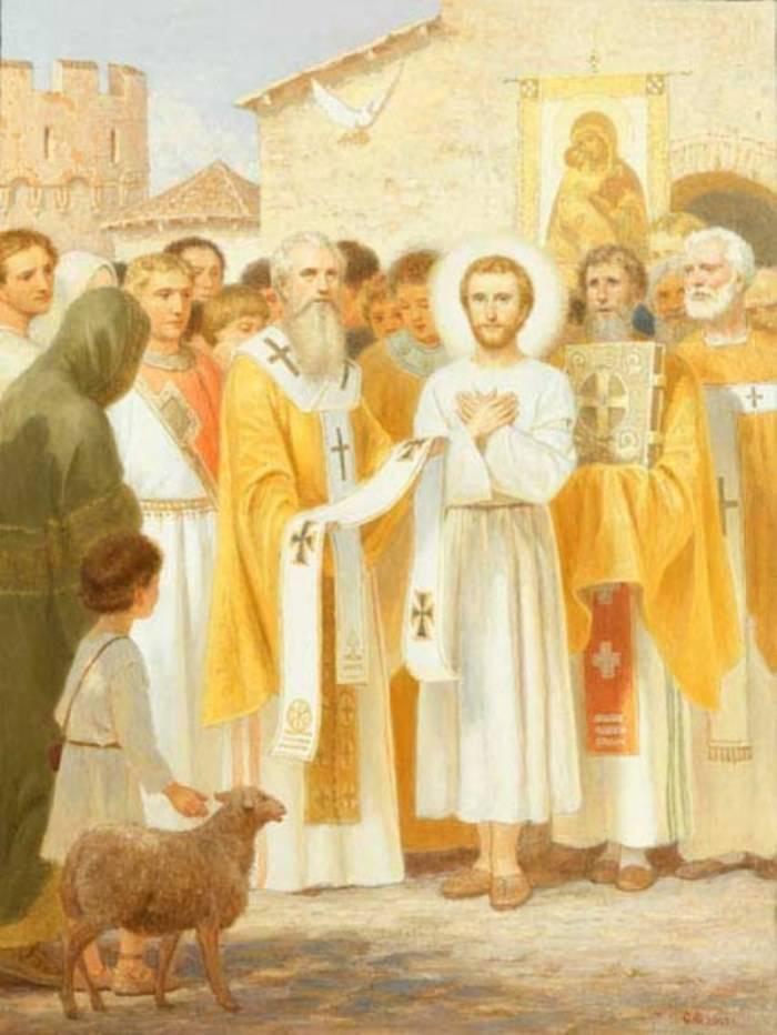 Святитель Николай Чудотворец. Чудесное избрание во епископа Мир-Ликийских