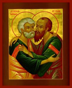 Великие праздники. Праздник святых апостолов Петра и Павла