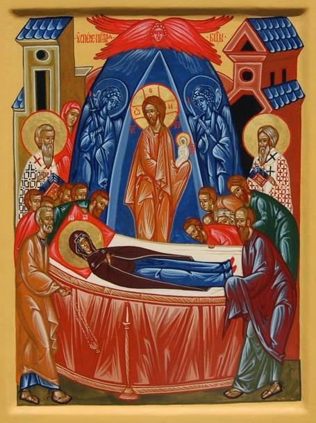 Двунадесятые праздники. Успение Пресвятой Богородицы.
