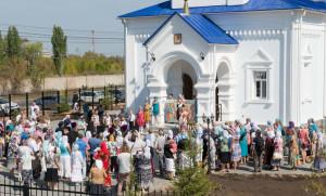 Освящение нового Успенского храма