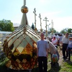Освящение куполов. 24 мая 2013 года