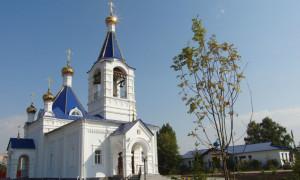 Строительство нового Успенского храма