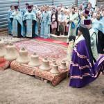 Освящение куполов. 28 августа 2014 года.