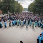 Покров Пресвятой Богородицы 2016 г. Крестный ход.