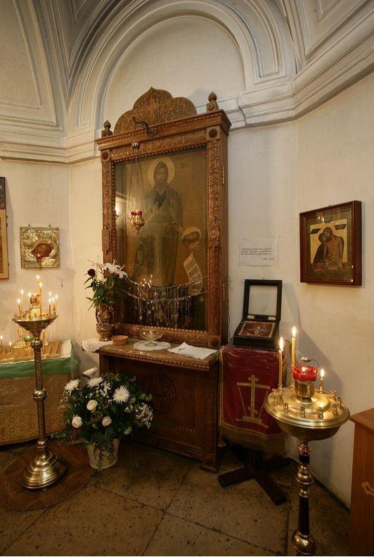 Иоанно-Предтеченский монастырь. Обручь Иоанна Предтеча