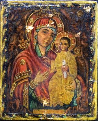 Икона Божией Матери «Избавительница от бед» без оклада