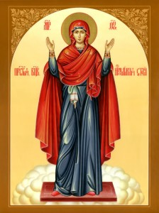 Икона Божией Матери «Нерушимая стена»