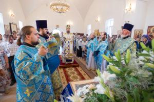 Архиерейская Божественная литургия в праздник Успения Пресвятой Богородицы 2017 г