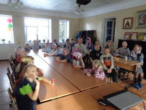 """В ВУВГ """" Лествица"""" состоялся праздничный урок, посвящённый дню Матери"""