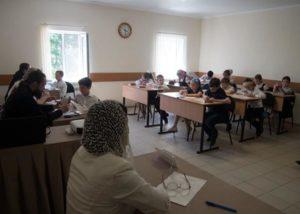 В Покровском епархиальном образовательном центре прошли переводные  экзамены для воспитанников 1-4-го классов воскресной школы «Преображение»