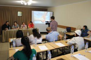 Представители Успенского храма приняли участие в семинаре «Принципы оказания социальной помощи в Покровской епархии»